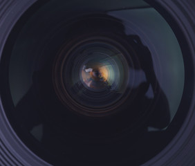Camera lens detail