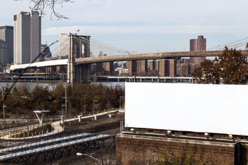 Billboard by the East River
