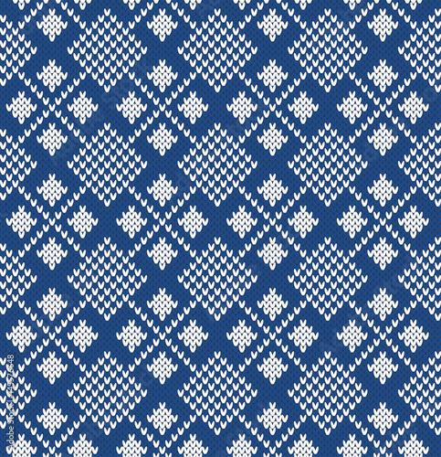Argyle Seamless Knitting Pattern Stock Image And Royalty Free