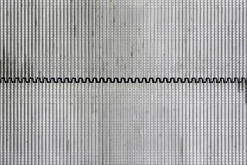 Metal wall details