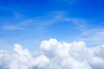 Foto op Plexiglas Hemel Blue sky above the clouds