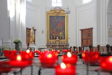 kirche in solothurn, schweiz