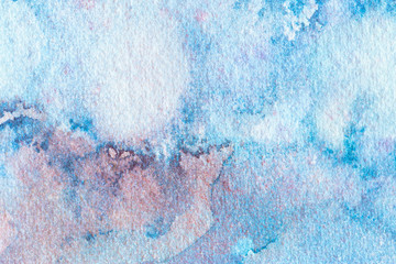 Watercolor abstract background. Hand painted watercolor background