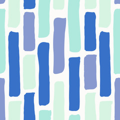 Fototapete - Abstract Brush Strokes Pattern