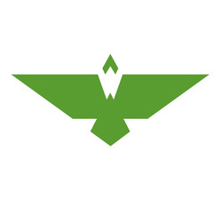 Bird graphic logo with a W shape in the body.