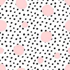 Fototapete - Dots Seamless Pattern