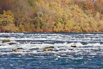 Beautiful photo of amazing powerful Niagara river
