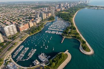 Belmont Harbor Chicago