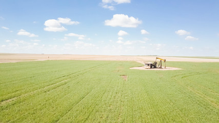 Farmlands in Spring