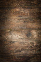 Distressed Barnwood Flooring Vignette