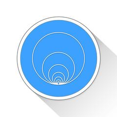 Hawaiian Earring Button Icon Business Concept