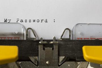 My Password