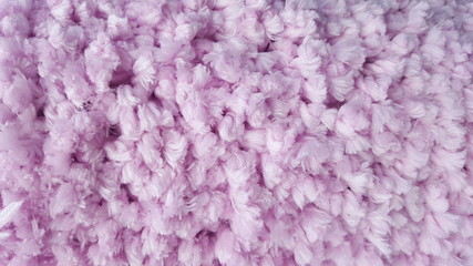 Pink carpet material abstract background texture