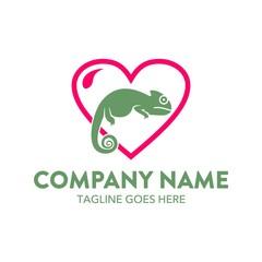 Unique Reptile Logo