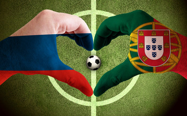 Russia vs Portugal Soccer Confed Cup 2017