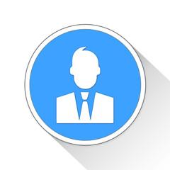 Harvey Reginald Specter Button Icon Business Concept