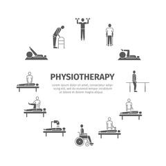 Physiotherapy, rehabilitation center.