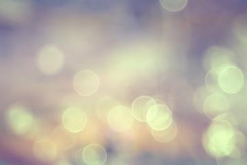 Blurred bokeh background design glare