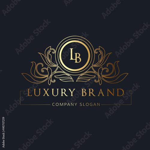 u0026quot luxury logo  hotel logo  monogram logo  vector logo template  u0026quot  stock image and royalty