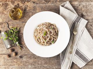 A simple italian pasta dish