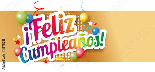 Feliz Cumpleanos Stock Image And Royalty Free Vector Files On