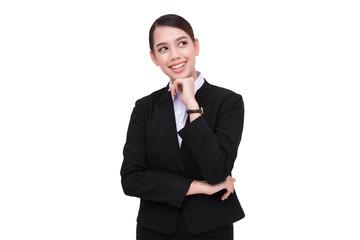 Business woman portrait .