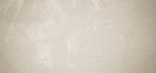Fotobehang - Blank grunge cement wall texture background, banner, brown colored