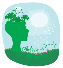 Ecology card design