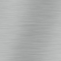 Brushed aluminium metal surface texture or brushed stainless steel background