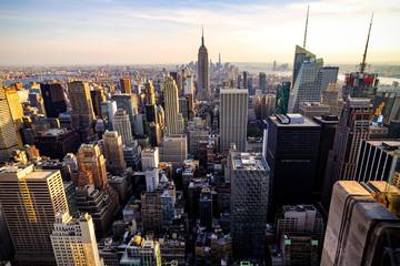 Fototapeta Manhattan from Above 2