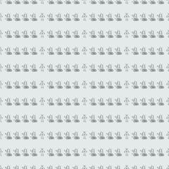 Robot doodles pattern.