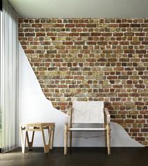 The living room corner interior design 3d rendering