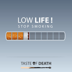May 31st World No Tobacco Day. No Smoking Day Awareness. Stop Smoke Campaign. Vector.