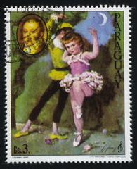 Ballerina and the Portrait of Gioacchino Rossini by Cydney