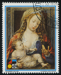 Virgin and the Child by Jan Gossaert