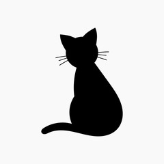 Cat shape icon