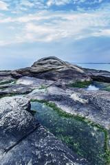 Seaside, reef