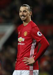 Manchester United's Zlatan Ibrahimovic