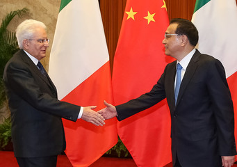Italian President Sergio Mattarella visits China