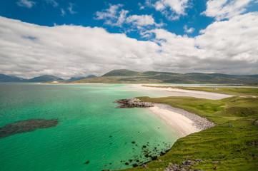 Seilebost Beach auf der Isle of Harris, Äußere Hebriden, Schottland