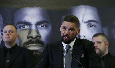 Tony Bellew during the press conference