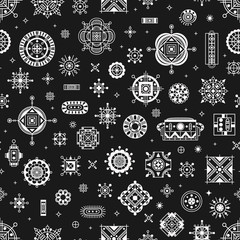 seamless pattern ethnic
