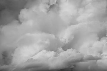 Canvas Prints Heaven Grey clouds