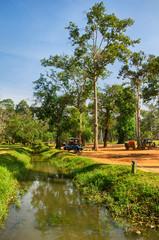 Small river in Cambodia
