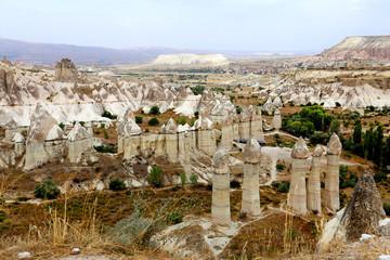 Photo mountain landscape of Cappadocia