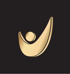 Vector - Check icon logo