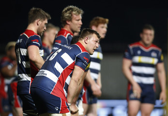 Bristol players look dejected at full time