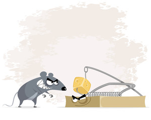 Rat and mousetrap