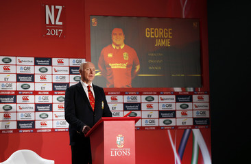 British & Irish Lions tour manager John Spencer as Jamie George is announced in the squad