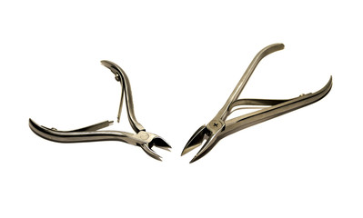 Manicure tools Steel pliers, wire cutters